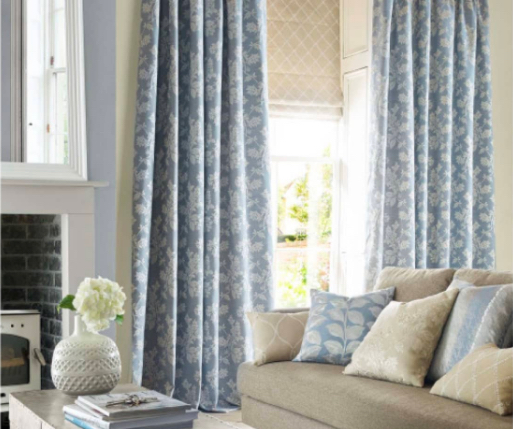 Ashley Wilde Curtains and Roman Blinds
