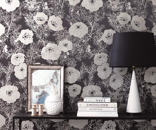 Evergreen Designer Wallpaper
