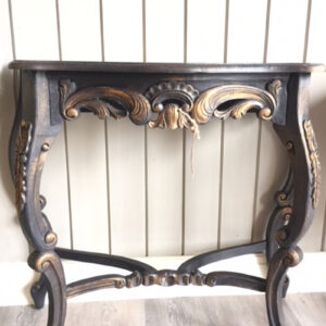 Console Table Black / Gold