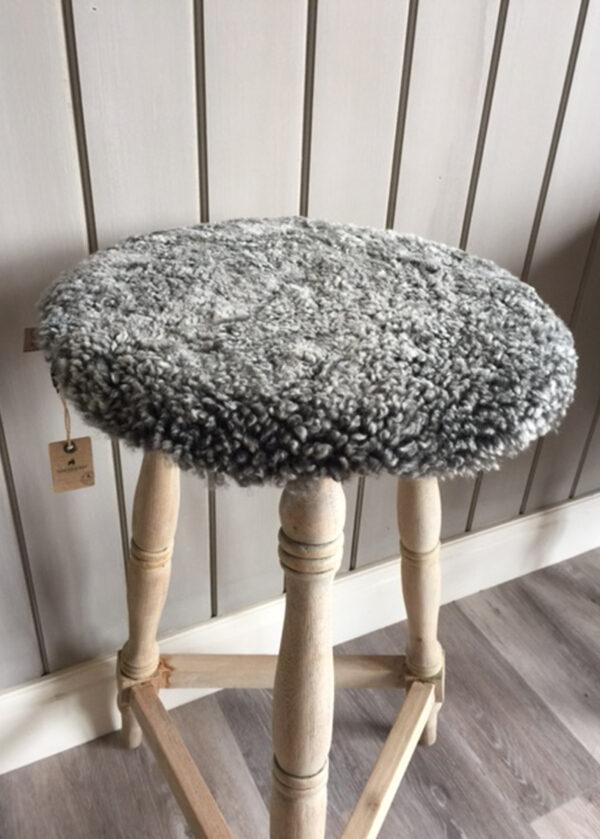 Sheepskin Seat Pads Grey